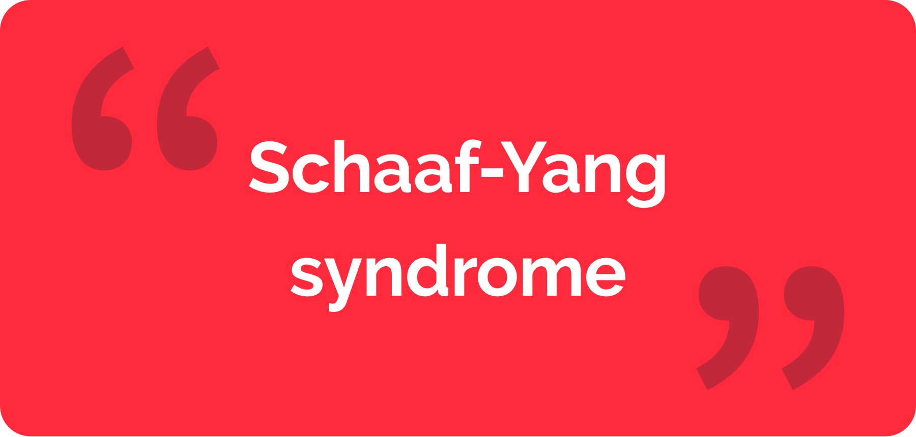 The cover of 'Story of a boy with Schaaf-Yang syndrome'
