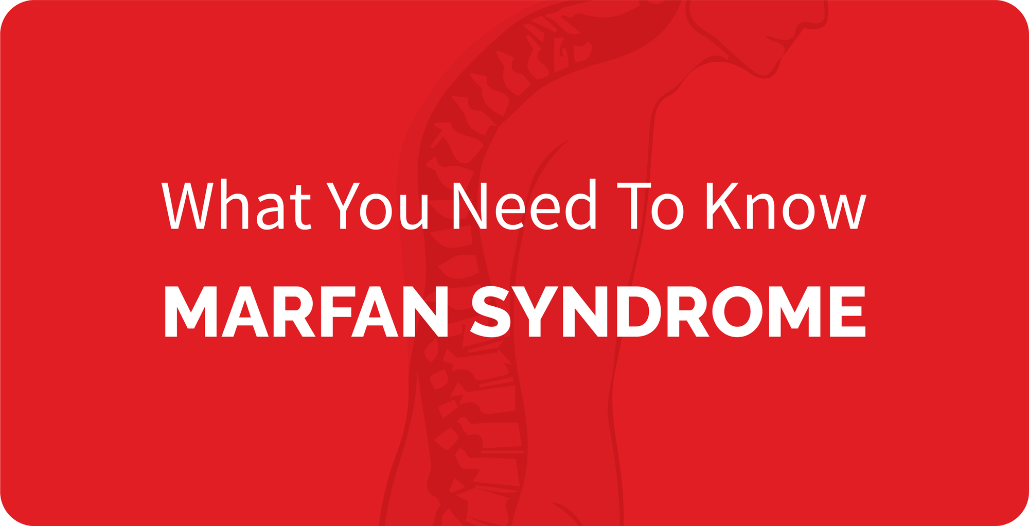 The cover of 'Rare Disease Series #6 MARFAN SYNDROME'